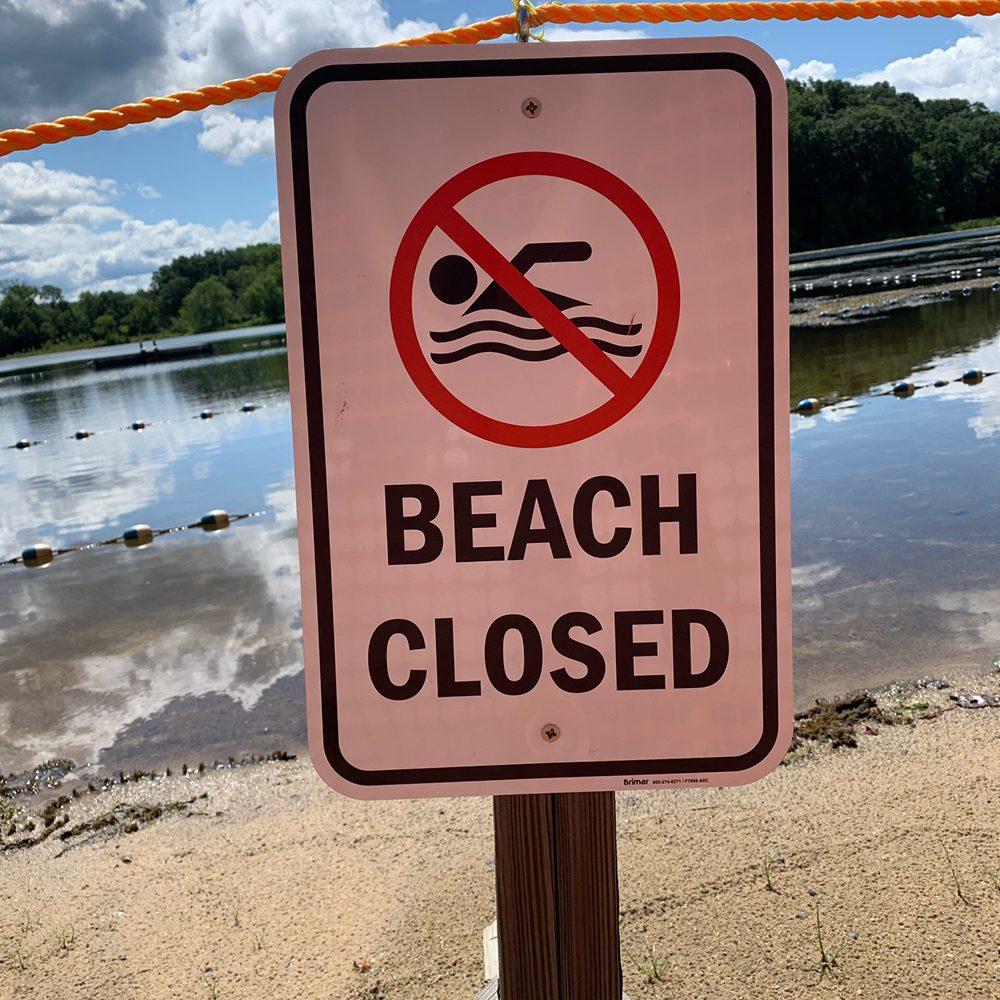 Beach-closure